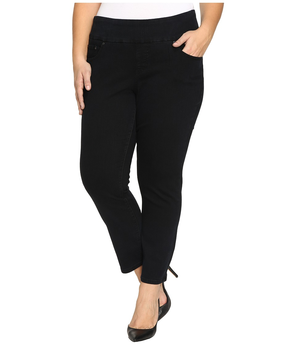 Jag Jeans Plus Size - Plus Size Amelia Pull-On Slim Ankle Comfort Denim in Black Void (Black Void) Women's Jeans