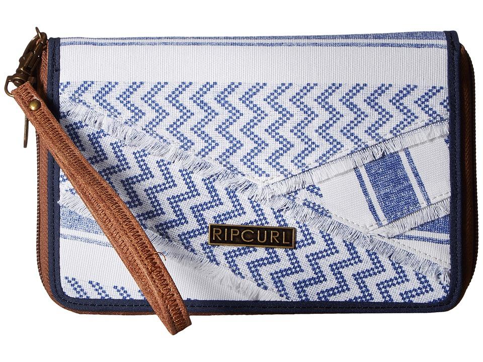 Rip Curl - Del Sol Oversized Wallet (Navy) Wallet Handbags