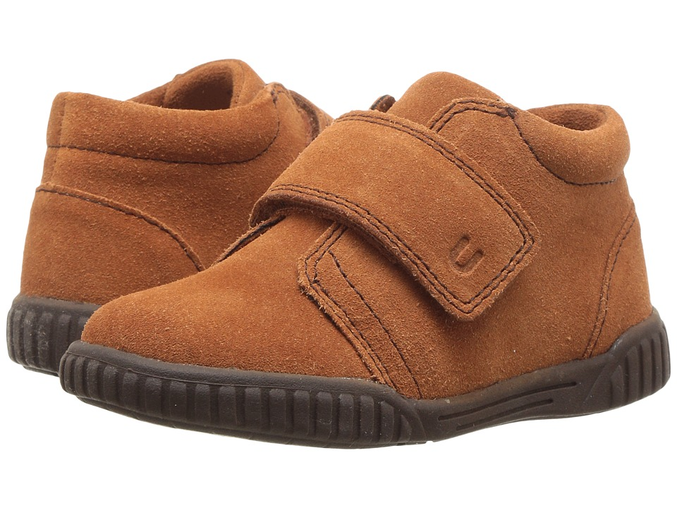 Umi Kids - Bodi E (Toddler) (Saddle Tan) Boy's Shoes