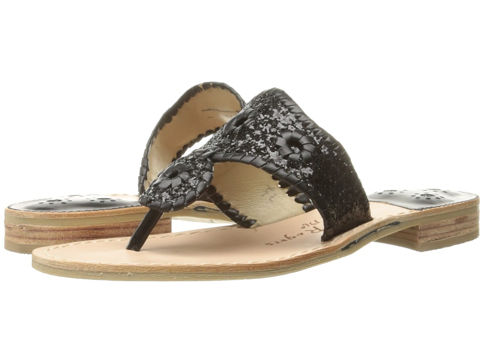 Jack Rogers - Cleo (Black/Black) Women's Sandals