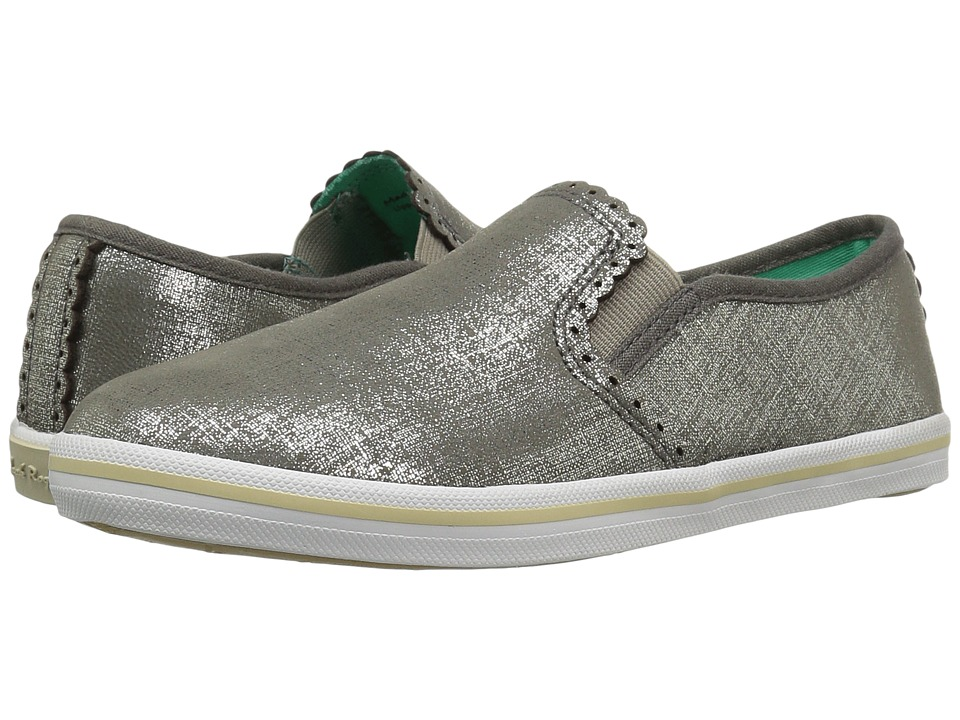 Jack Rogers - Bennett Etched (Pewter) Women's Slip on Shoes