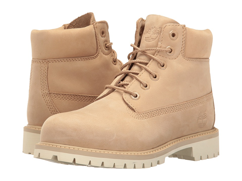 Timberland Kids - 6 Premium Waterproof Boot (Little Kid) (Croissant Waterbuck) Kids Shoes