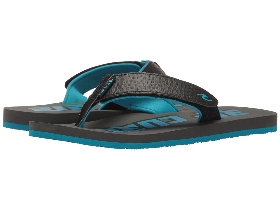 Rip Curl - The One Kids - Grom (Black/Blue) Men's Sandals