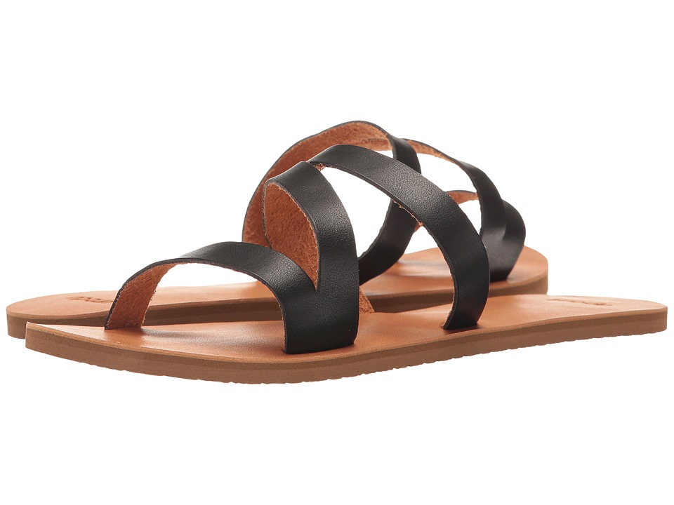 Rip Curl - Salina (Black/Tan) Women's Sandals