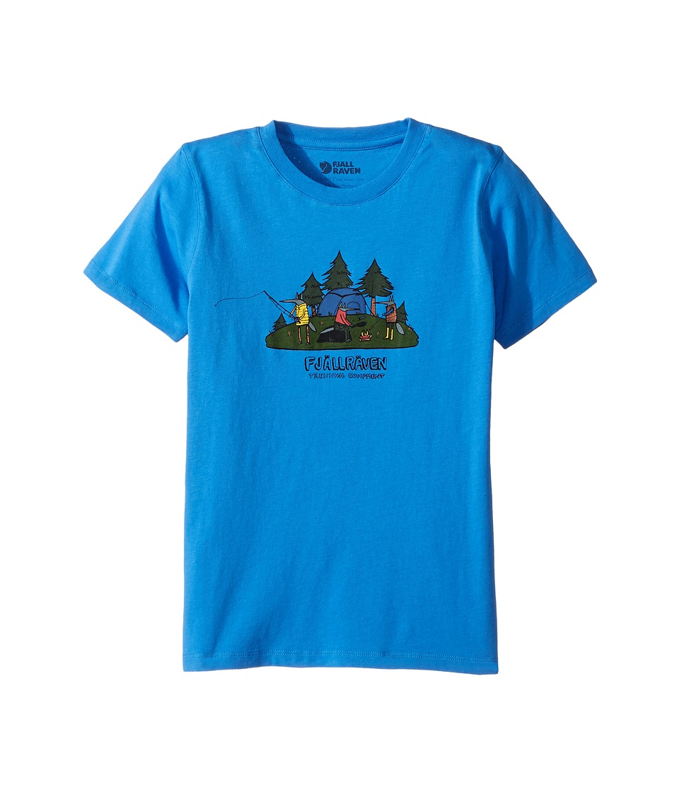 Fjallraven Kids - Camping Foxes T-Shirt (Toddler/Little Kids/Big Kids) (UN Blue) Boy's T Shirt