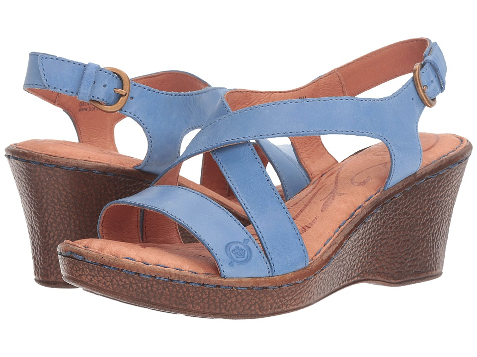 Born - Alecia (Sea Blue) Women's Shoes