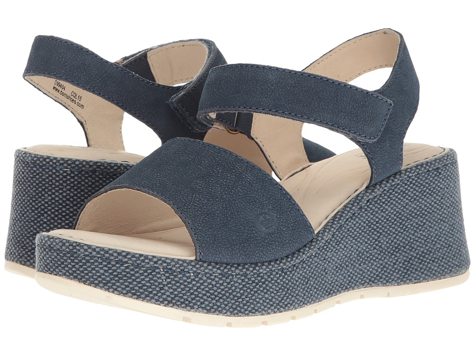 Born Lucee (Azzurro Washed Nubuck) Women