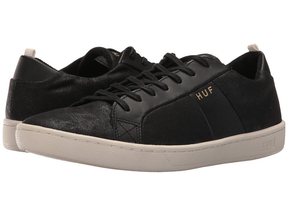 HUF - Boyd (Black/Bone) Men's Skate Shoes