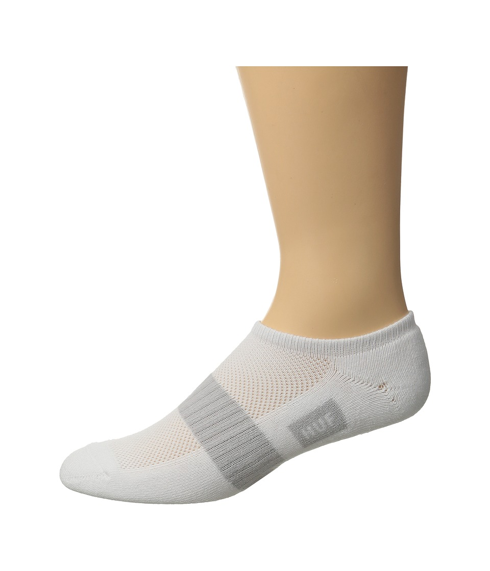 HUF - Performance No Show Sock (White 1) No Show Socks Shoes