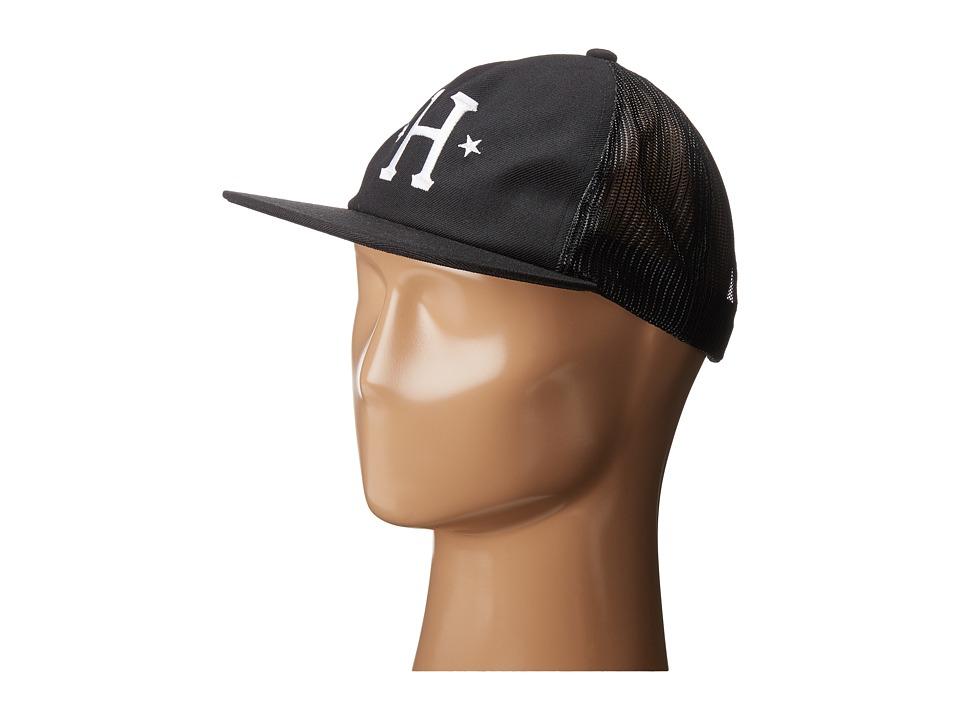 HUF - Classic H Trucker (Black) Caps