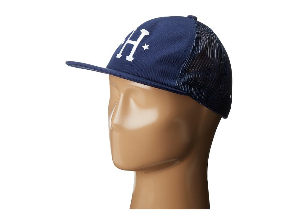 HUF - Classic H Trucker (Navy) Caps
