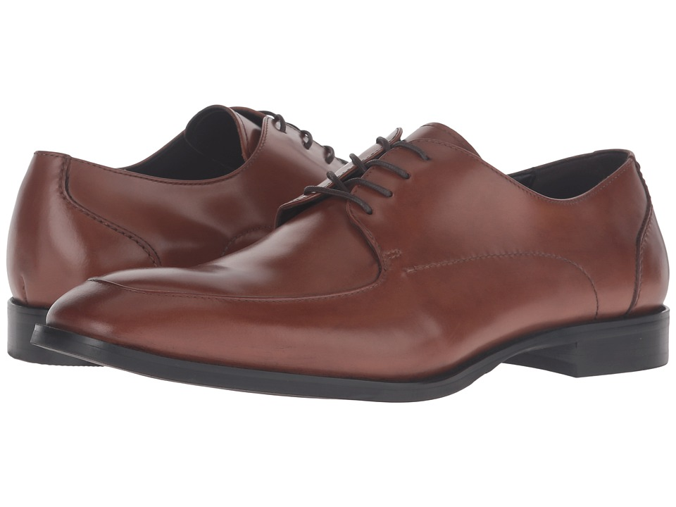 Kenneth Cole New York - Han-Dful (Cognac) Men's Lace up casual Shoes