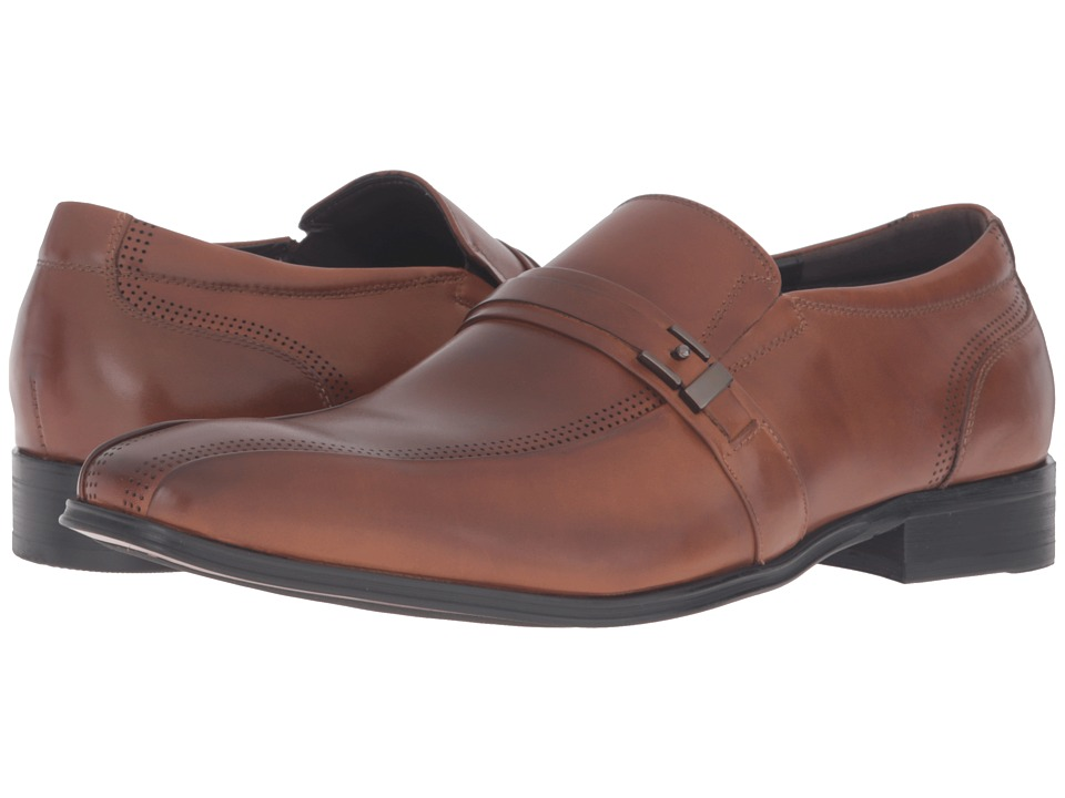 Kenneth Cole New York - Lock It Up (Cognac) Men's Shoes