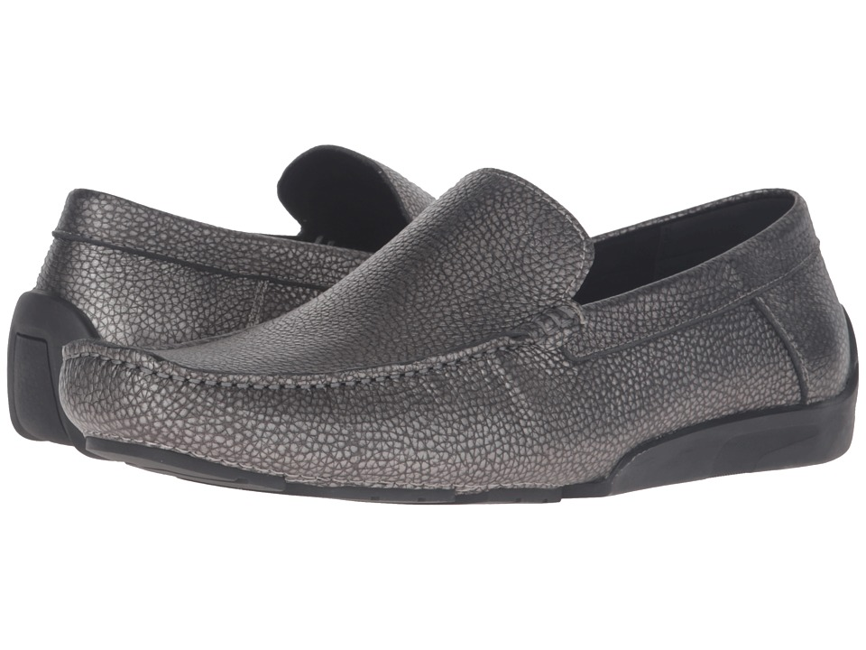 Kenneth Cole New York - Sunday Fun-Day (Gunmetal) Men's Slip on Shoes