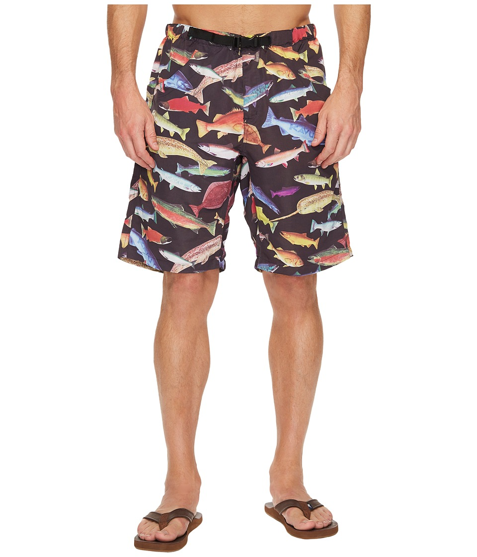 KAVU - Big Eddy Short (Fish Fest) Men's Shorts