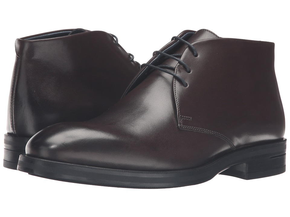 Kenneth Cole New York - Catch Up (Grey) Men's Lace-up Boots