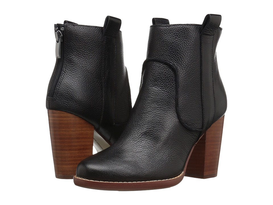 French Connection - Avabba (Black Tumbled Leather) Women's Shoes