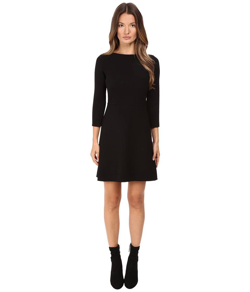 Theory Kamillina.Saxton Dress (Black) Women