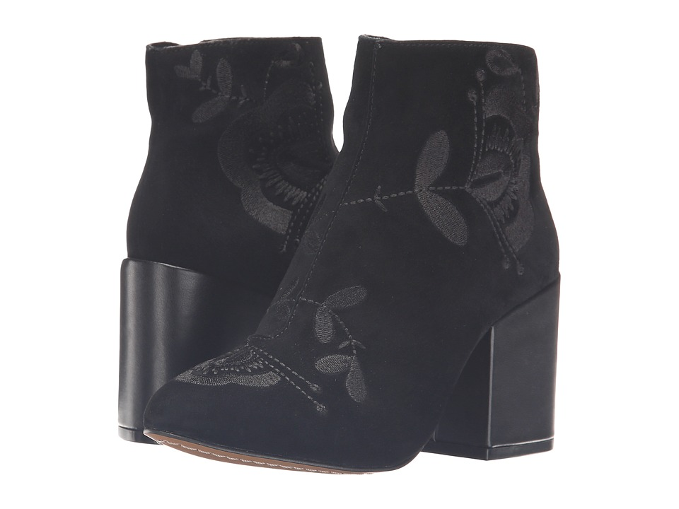 French Connection - Dilyla (Black Kid Suede) Women's Shoes