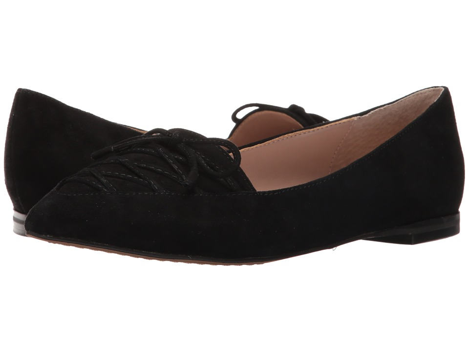French Connection - Gesine (Black Kid Suede) Women's Shoes