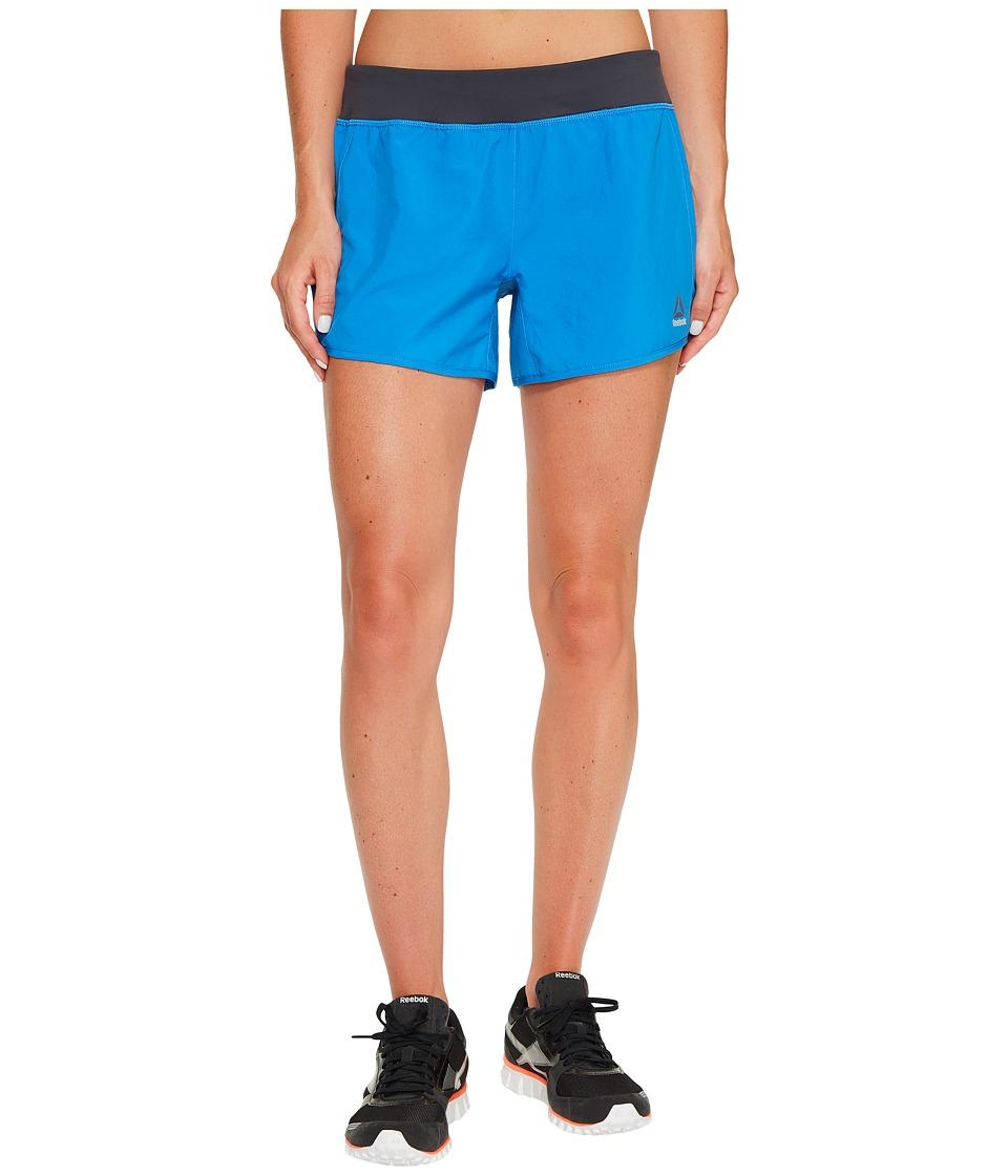 Reebok - 4 Knit Woven Shorts (Echo Blue) Women's Shorts