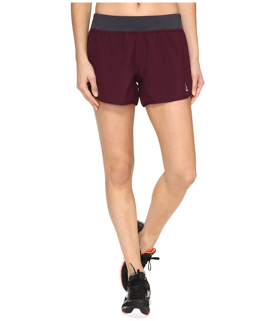 Reebok - 4 Knit Woven Shorts (Pacific Purple) Women's Shorts