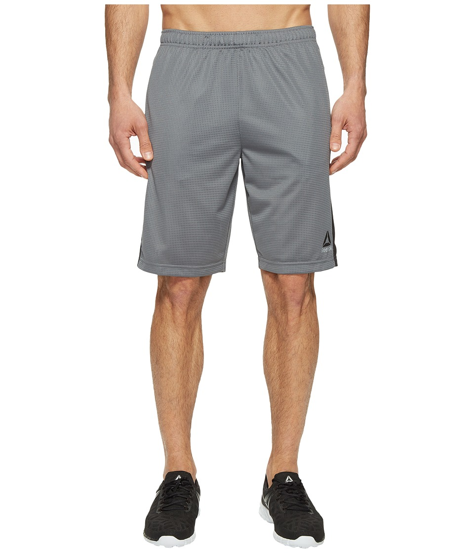 Reebok Workout Ready Mesh Shorts (Alloy 1) Men