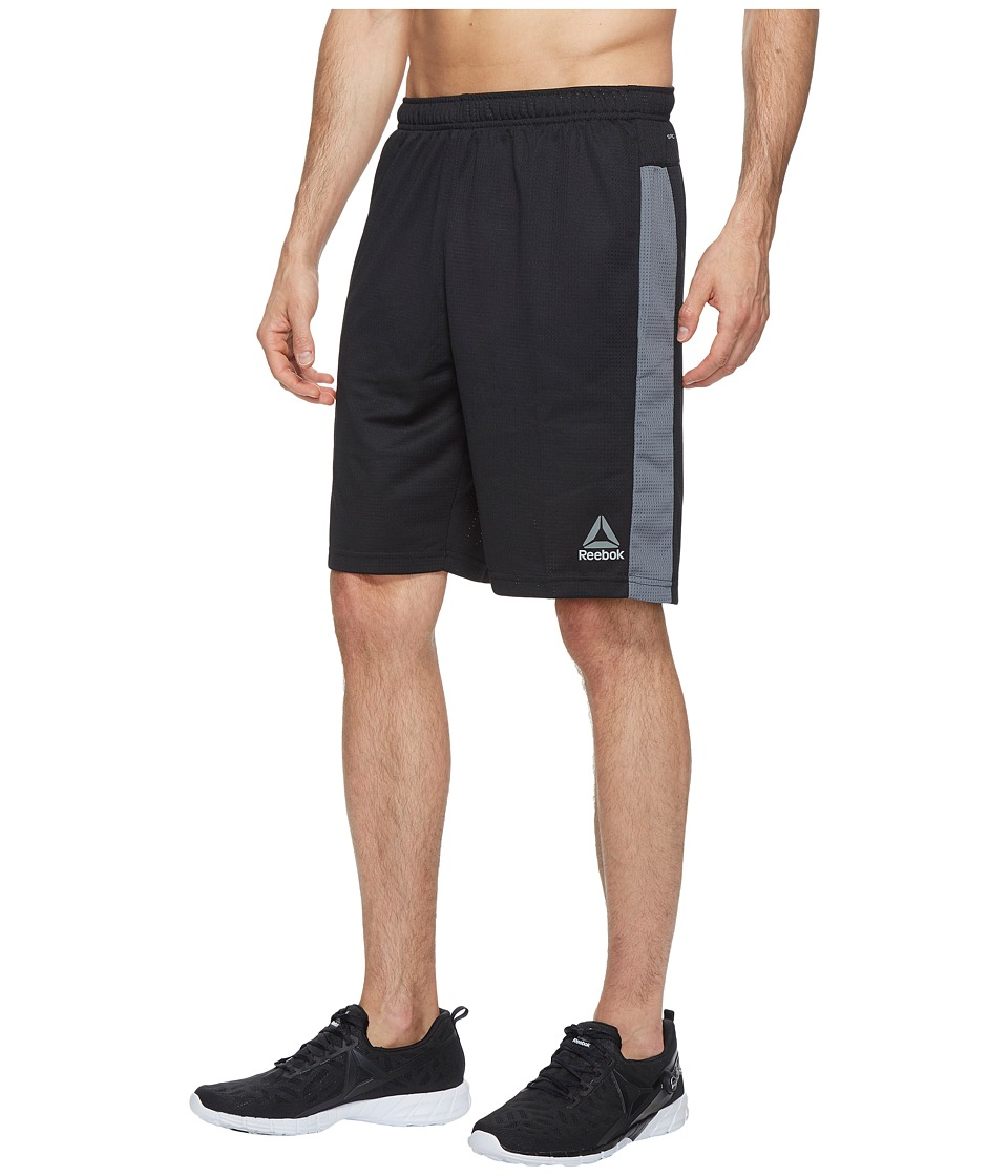 Reebok - Workout Ready Mesh Shorts (Black 1) Men's Shorts