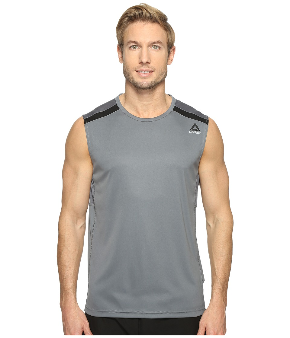 Reebok Workout Ready Sleeveless Tech Top (Alloy 1) Men