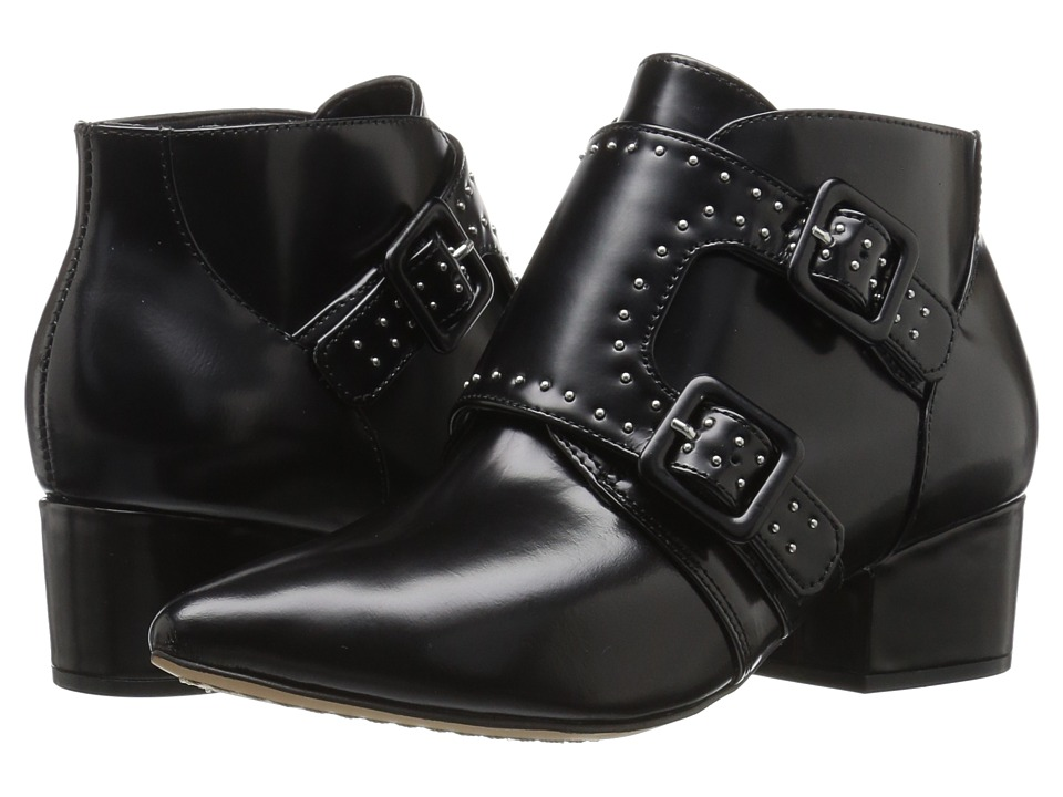 French Connection - Roree (Black Box Medium) Women's Shoes