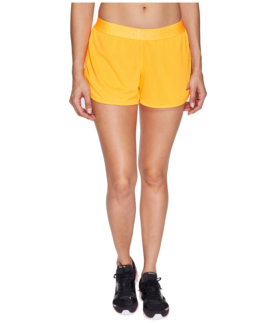 Reebok - Workout Ready Woven Shorts (Fire Spark) Women's Shorts