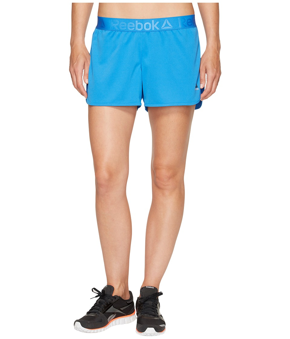 Reebok Workout Ready Woven Shorts (Echo Blue) Women