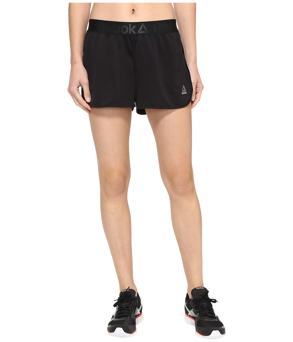 Reebok - Workout Ready Woven Shorts (Black) Women's Shorts