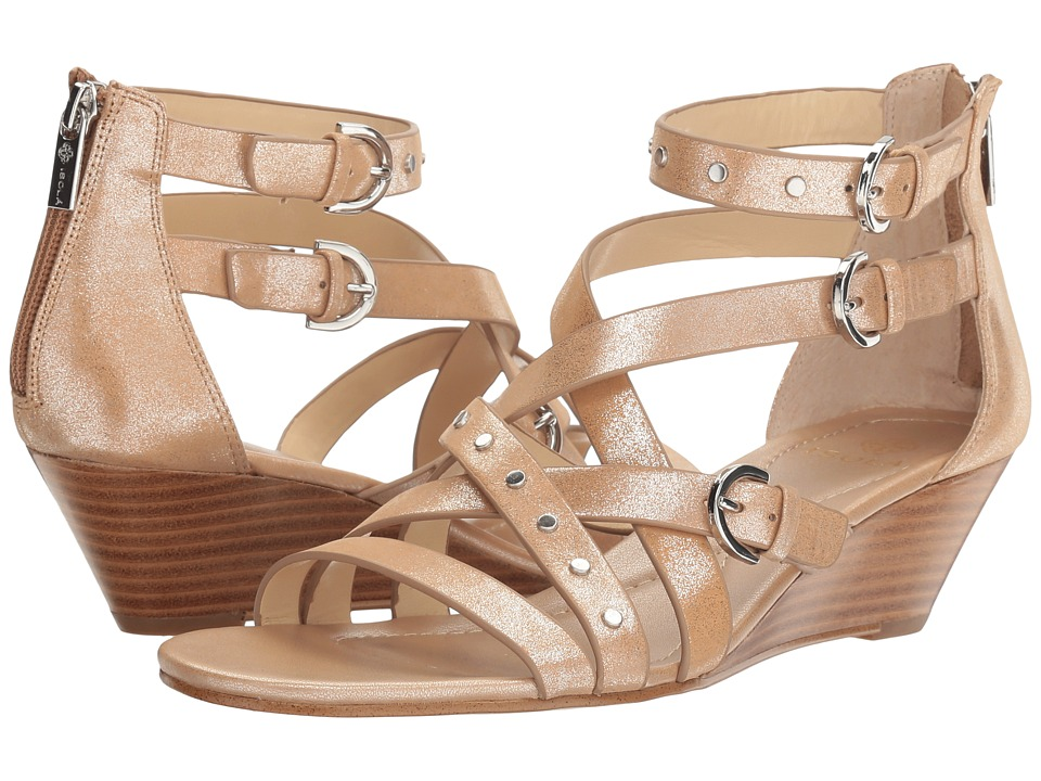 Isola - Petra (Natural Foil Cow) Women's Sandals