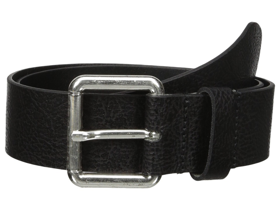 Diesel - B-Stampp - Belt (Black) Men's Belts
