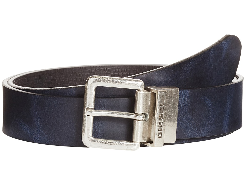Diesel - B-Twin - Belt (Black/Indigo) Men's Belts