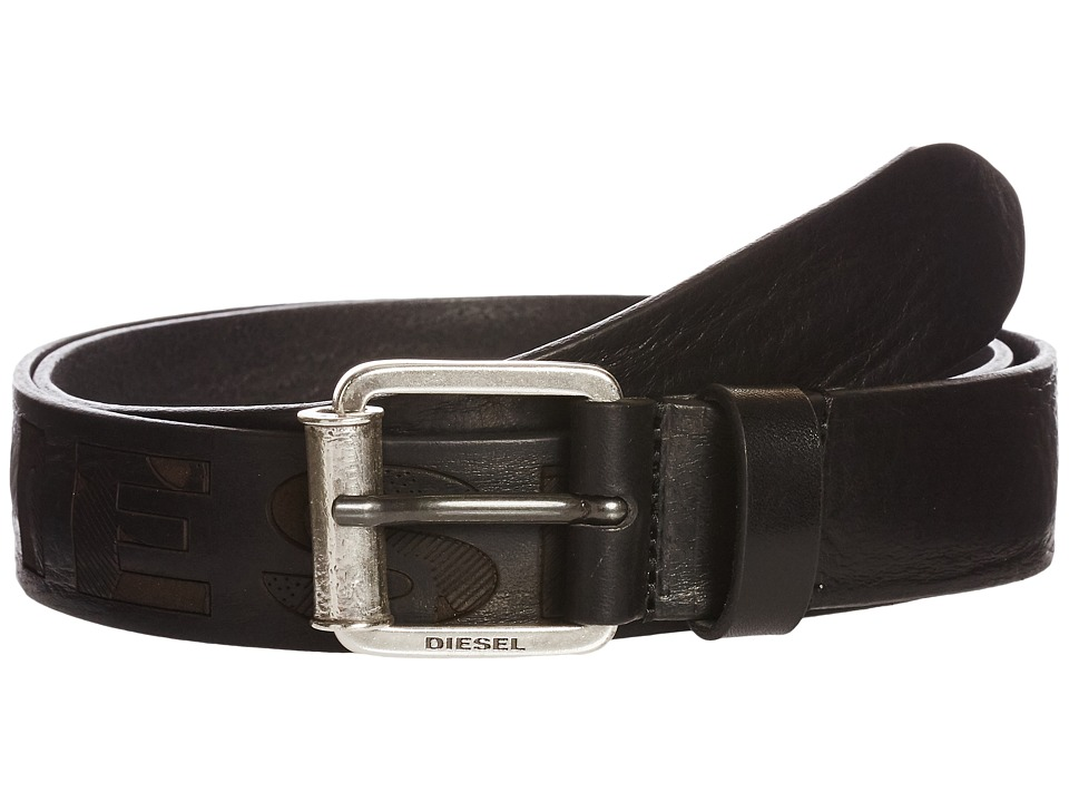 Diesel - B-Laserr - Belt (Black) Men's Belts