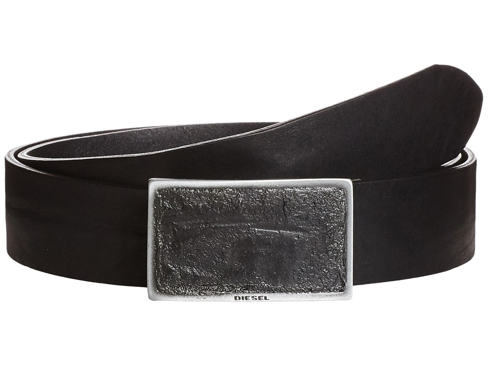 Diesel - B-Bond - Belt (Black) Men's Belts