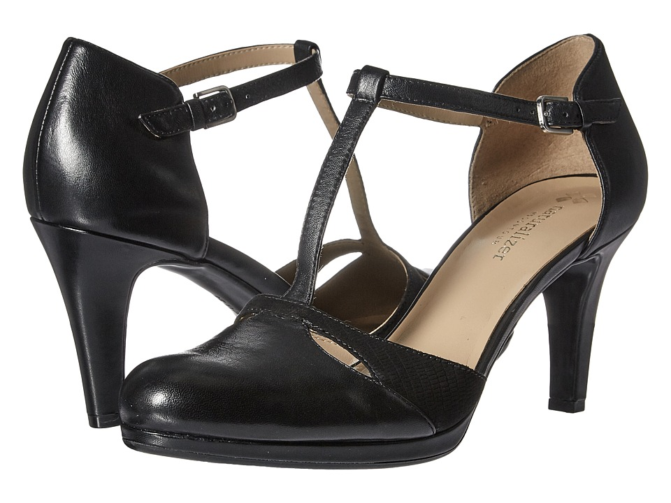 Naturalizer - Megan (Black Leather) High Heels