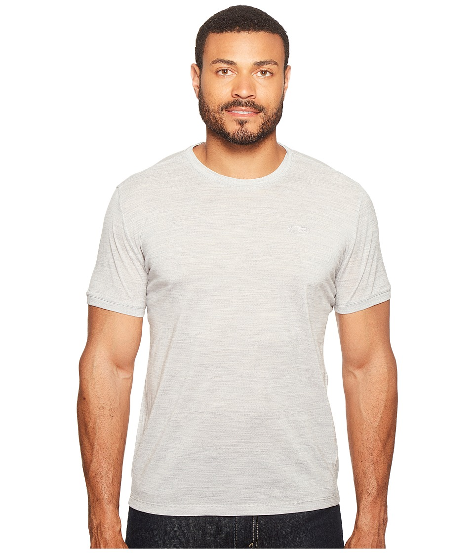 Icebreaker - Tech T Lite Short Sleeve (Blizzard Heather/Blizzard Heather) Men's Short Sleeve Pullover