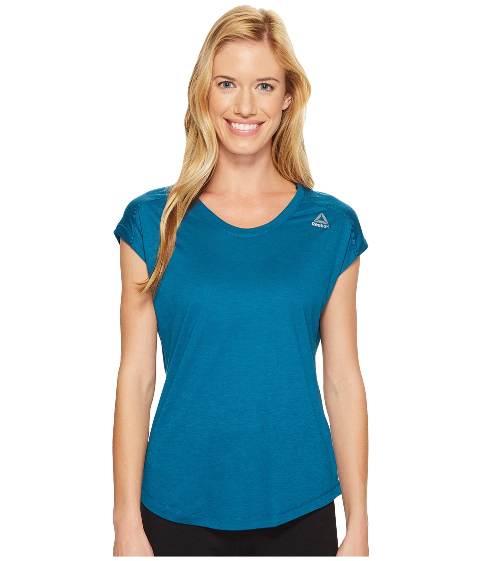 Reebok - Workout Ready Supremium Tee (Emerald Tide) Women's T Shirt
