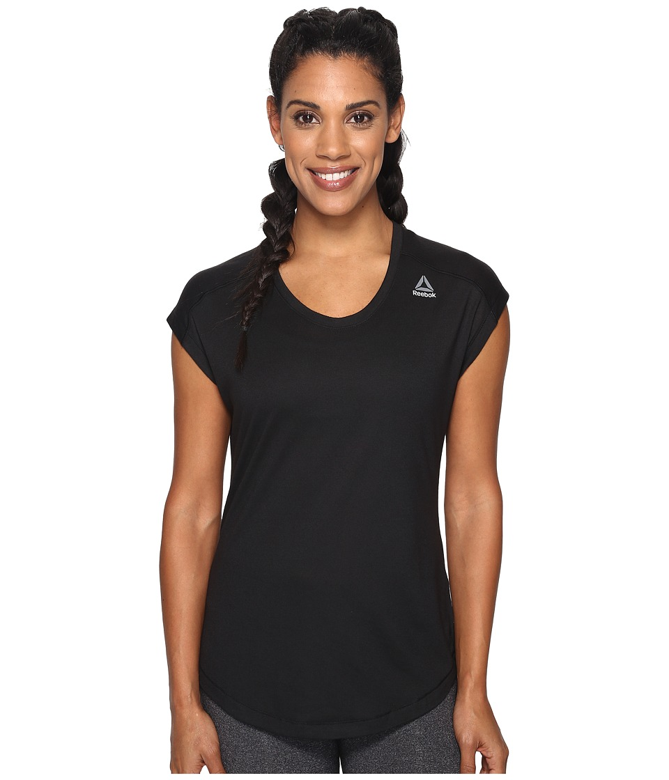Reebok - Workout Ready Supremium Tee (Black 1) Women's T Shirt