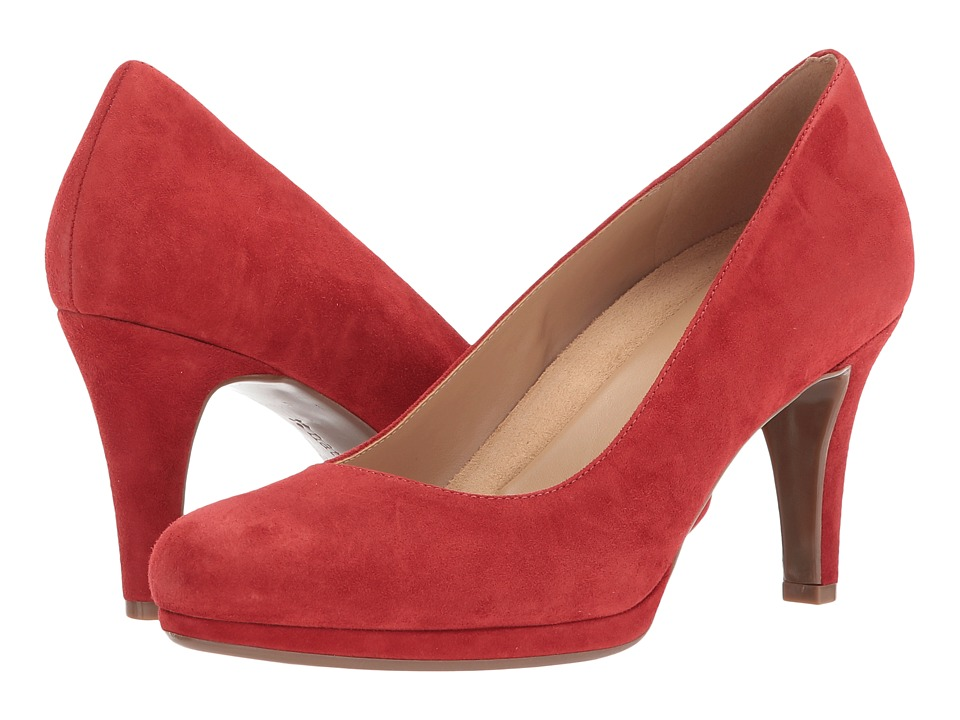 Naturalizer - Michelle (Kettle Red Leather) High Heels