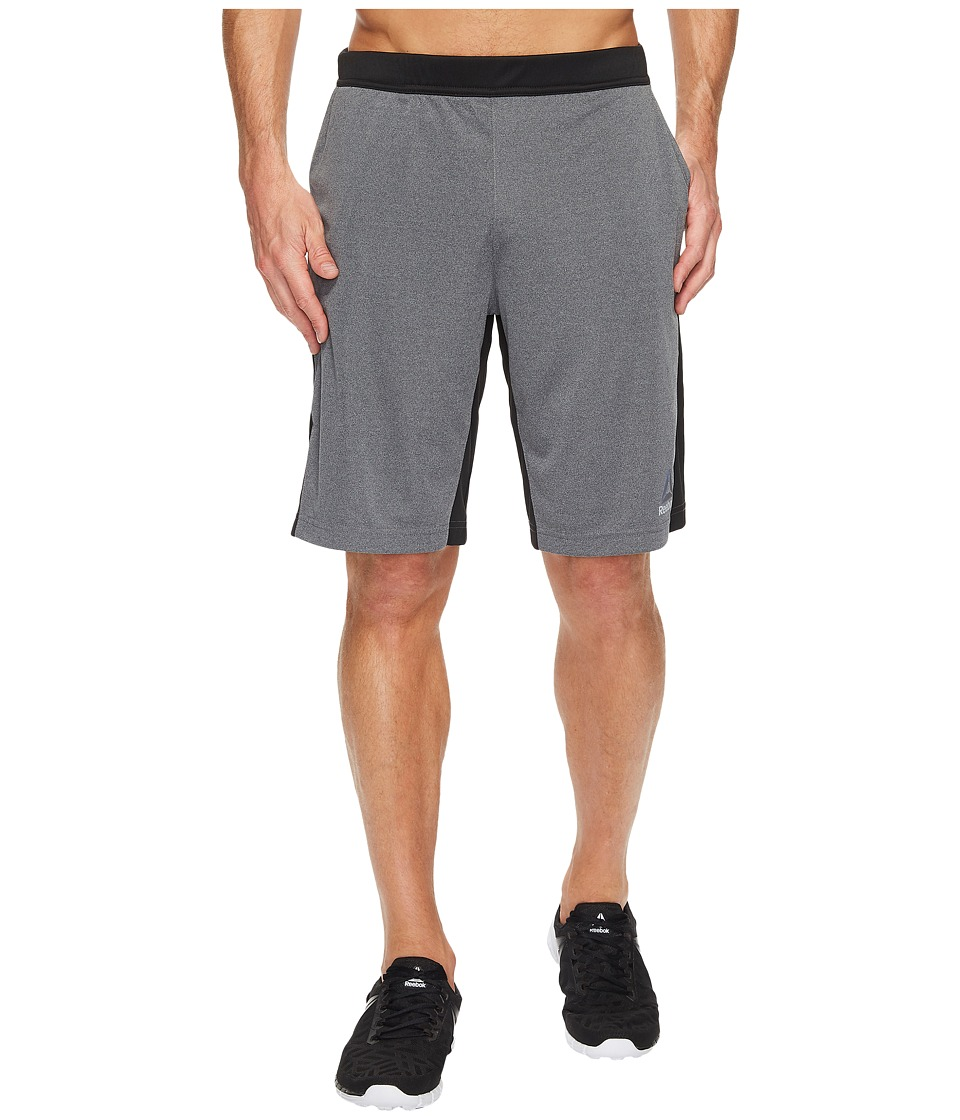 Reebok - Knit Force Shorts (Dark Grey Heather) Men's Shorts
