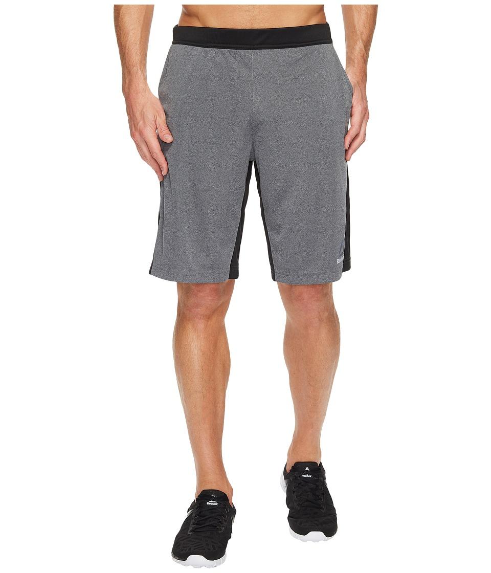 Reebok - Knit Force Shorts (Dark Grey Heather) Men's Shorts