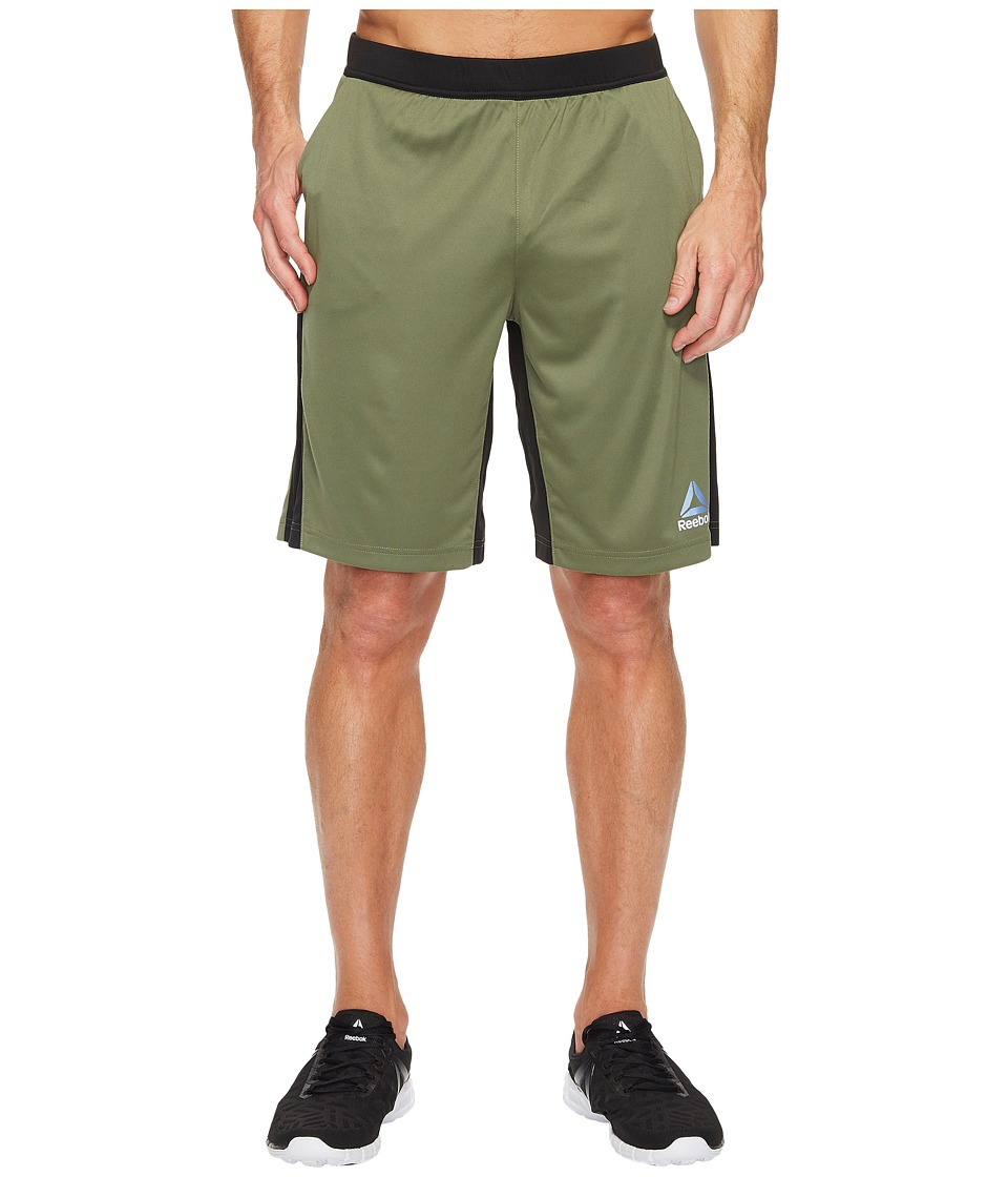 Reebok - Knit Force Shorts (Hunter Green) Men's Shorts