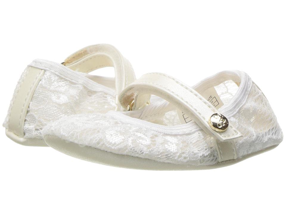 Stuart Weitzman Kids - Baby Dancer (Infant/Toddler) (White) Girl's Shoes