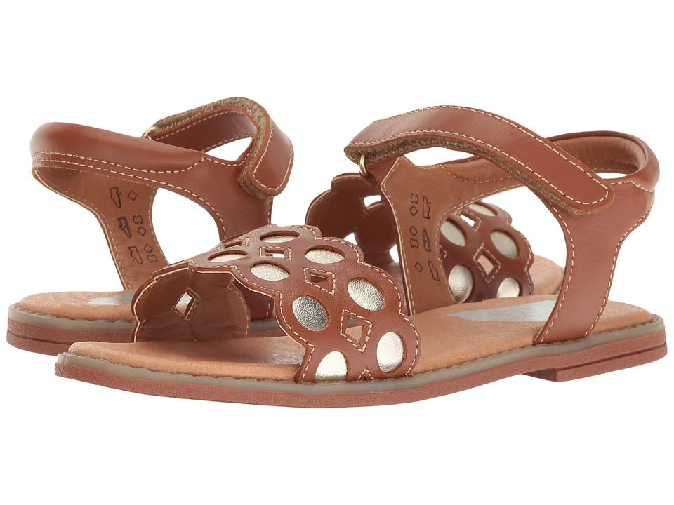 Umi Kids - Finley II (Little Kid) (Saddle Tan) Girl's Shoes