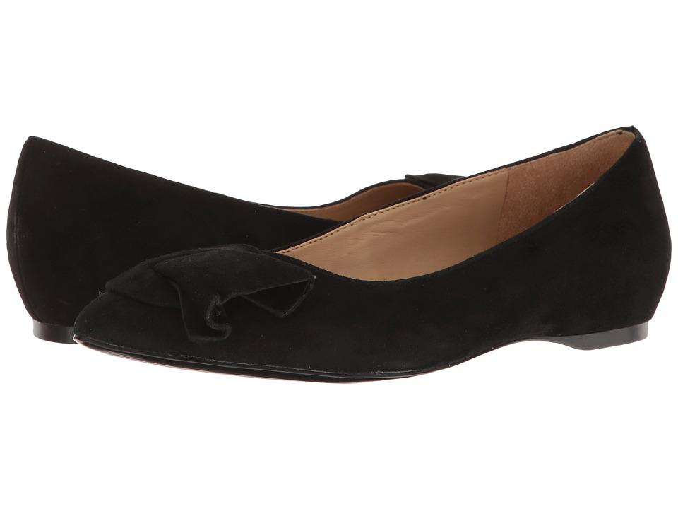 Naturalizer - Sarah (Black Suede) Women's Flat Shoes