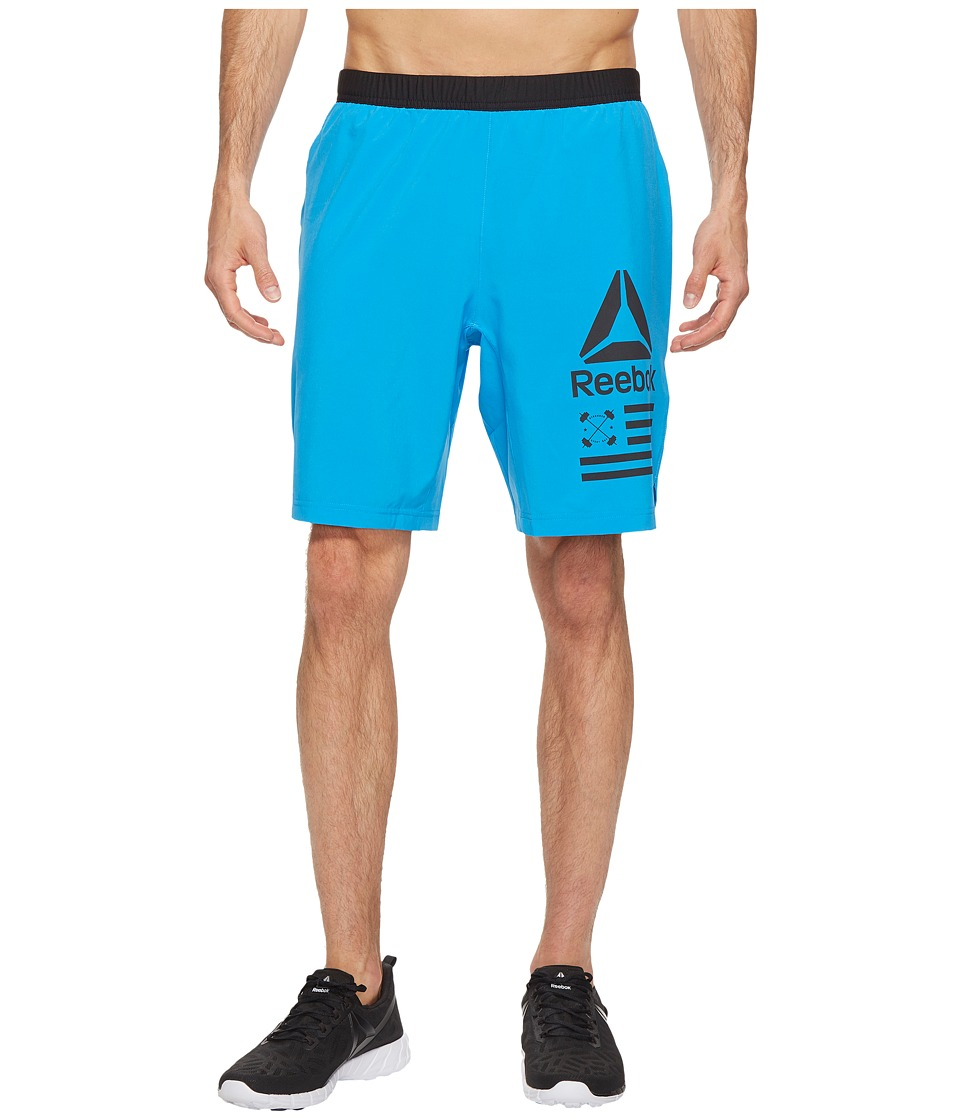 Reebok - Speed Shorts (Horizon Blue) Men's Shorts
